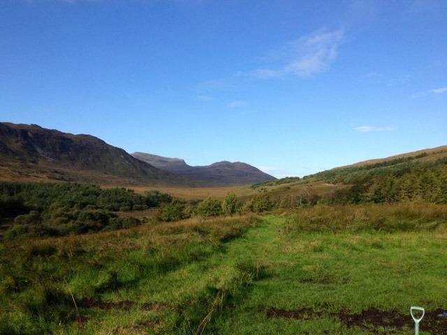 isle of rum landscape