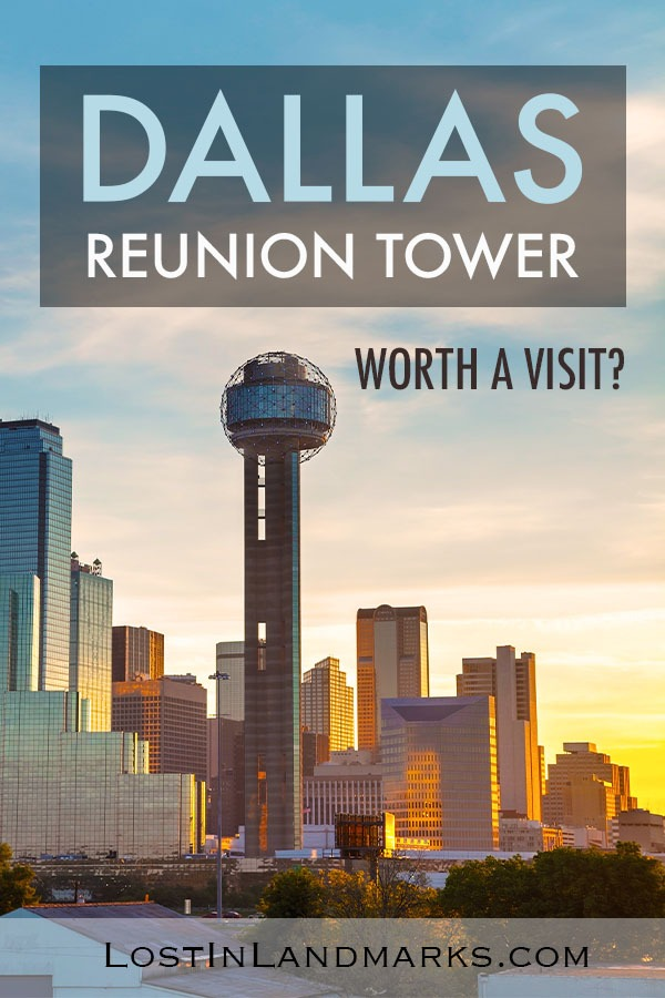 one of the standout landmarks in dallas texas is the reunion tower which is beautiful to see from afar but also allows great views over the city as well. Here's our review of the tower #dallastravel #texastravel