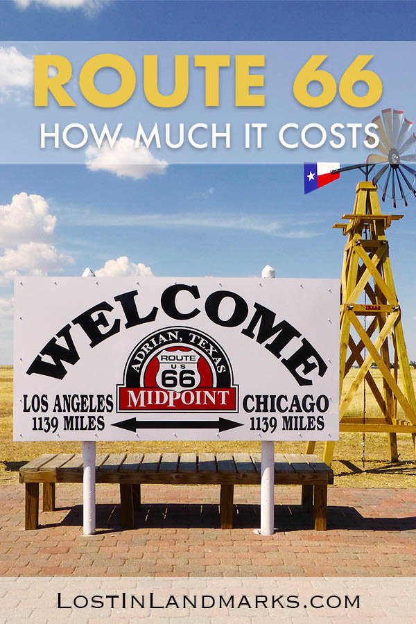 The route 66 road trip can cost as little or as much as you like. Here's how we did the road trip on a budget and what we spent driving route 66 #route66