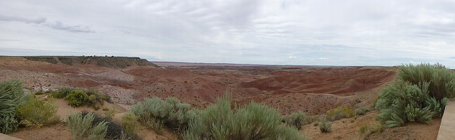 painted desert on route 66 cheap attractions