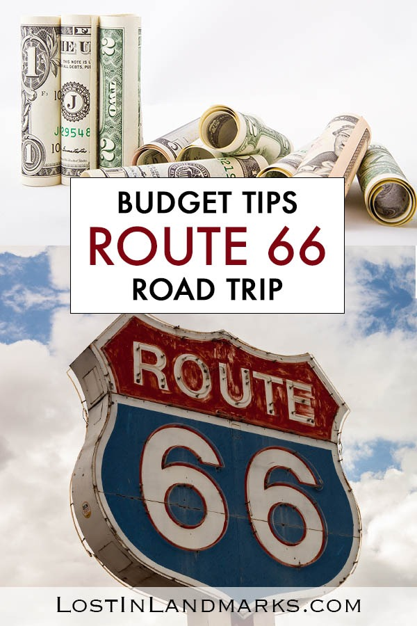The route 66 road trip can cost as little or as much as you like. Here's how we did the classic USA road trip on a budget and what we spent driving route 66 #route66