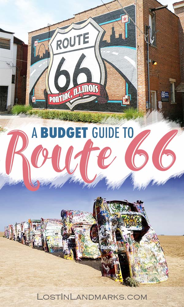 Route 66 is an iconic road trip on many bucket lists but can you do it on a budget? Here's some tips for travelling the historic mother road on the cheap. #route66 #roadtrip #usatravel