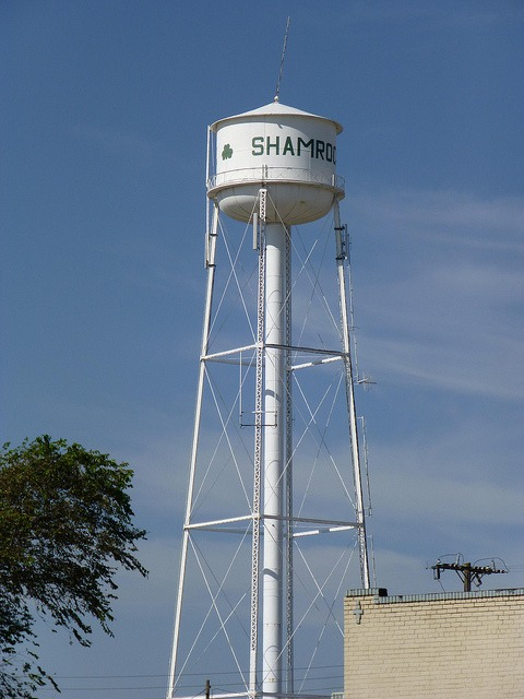 shamrock texas water tower