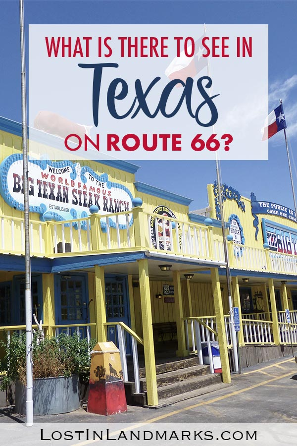 What not to miss when on a road trip and exploring Route 66 through Texas. All the quirky attractions, diners, neon, small towns and sights to see. #route66 #roadtrip #usa #texas