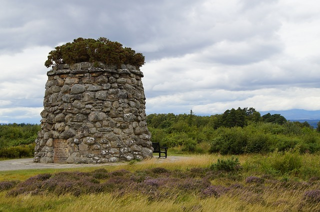 Culloden battlefield from Inverness