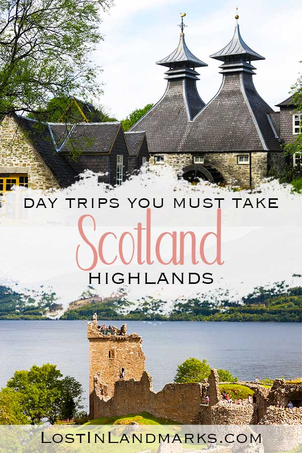 The best day trips in Scotland to take from Inverness. Tours to Skye, whisky distilleries, nature days out and history sites are all in reach of Inverness in the Scottish highlands #scotlandtravel
