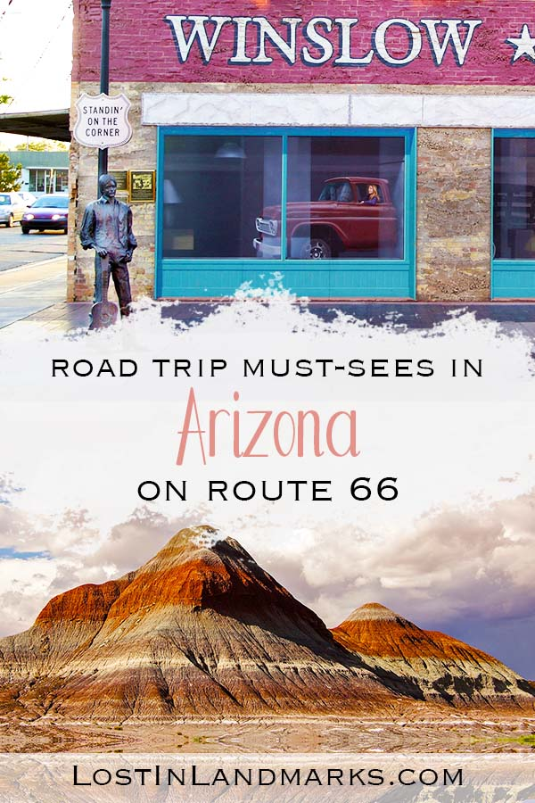 what to do on an Arizona road trip through route 66. Here's all the must see roadside attractions on this classic american road trip. #usatravel #route66