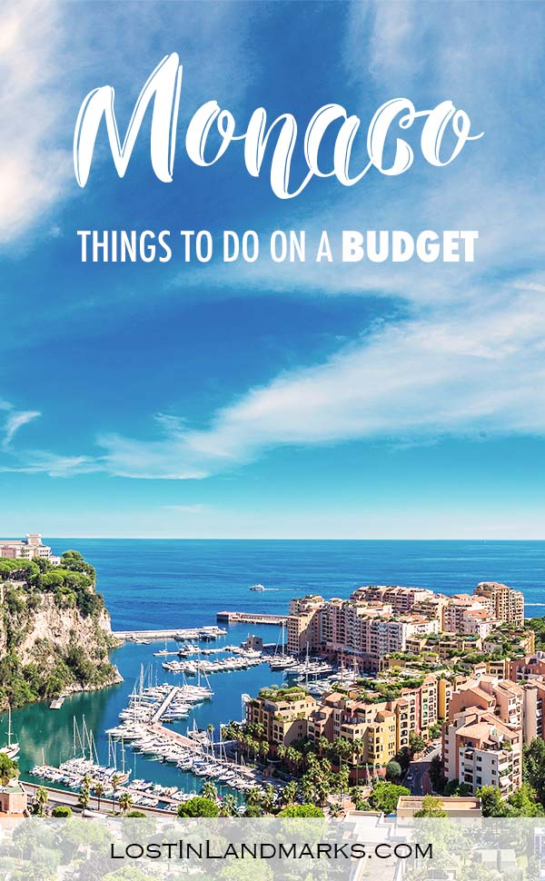 Things to do in Monaco on a budget - it's not all just rich people and expensive things. We found loads of budget things to do on our day trip to Monaco - it's an excellent city destination in Europe #monacotravel #europetravel