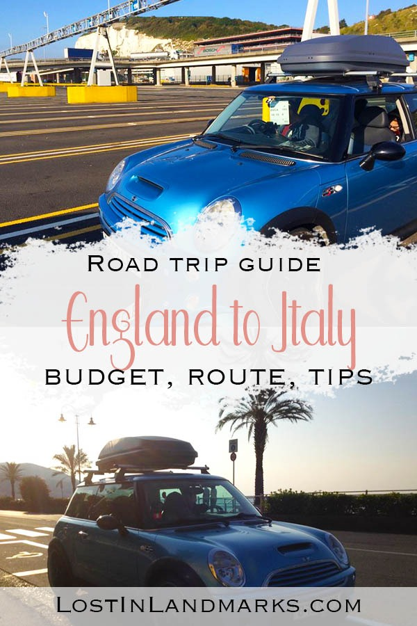 Tips for driving from England to Italy - an epic Europe road trip through France, Belgium and Switzerland. It's a long road trip from UK to Italy - here's some tips to make the journey as easy as possible!