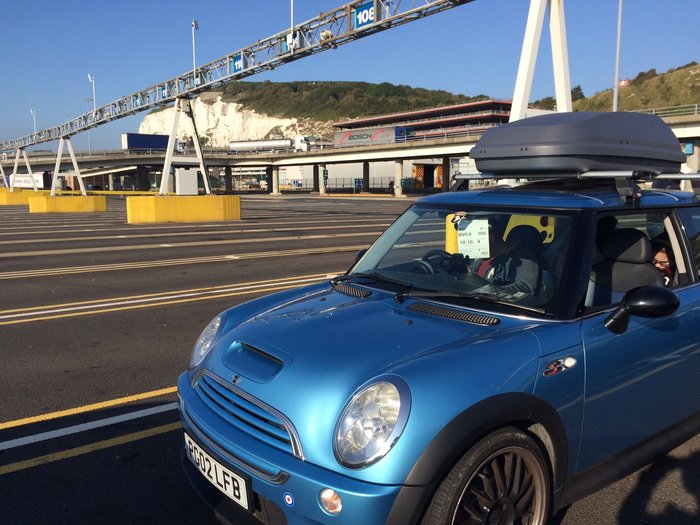 driving from england to italy car at dover