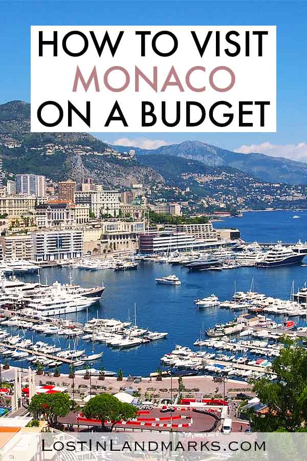 Things to do in Monaco on a budget - it's not all just rich people and expensive things. We found loads of budget things to do on our day trip to Monaco - it's an excellent city destination in Europe