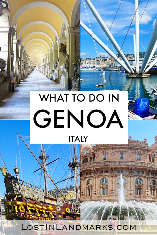 If you only have a day in Genoa here's some ideas of things do and see in the italian city. Genoa is a also popular cruise stop so one day itineraries are especially helpful. 24 hours in Genoa. One day itinerary Genoa #italytravel
