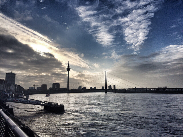 Dusseldorf-in-winter