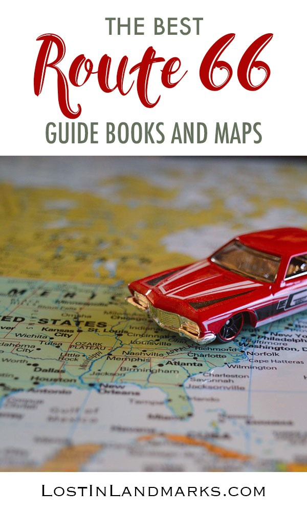 Maps and a guide book are essentials for planning a route 66 road trip so you can make the most of your trip. Here's the best ones around. #route66