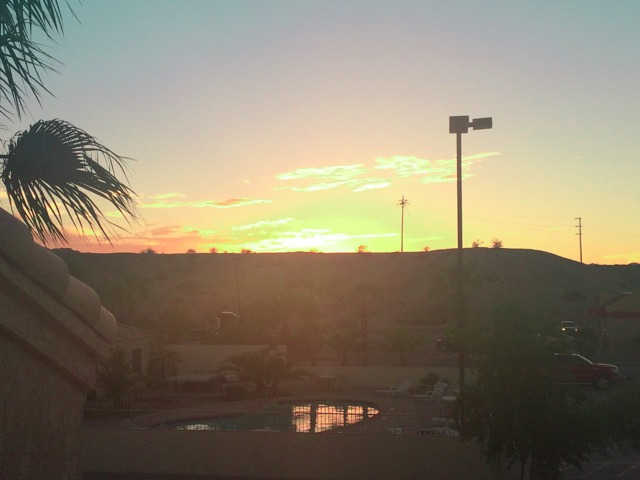 needles motel sunset california