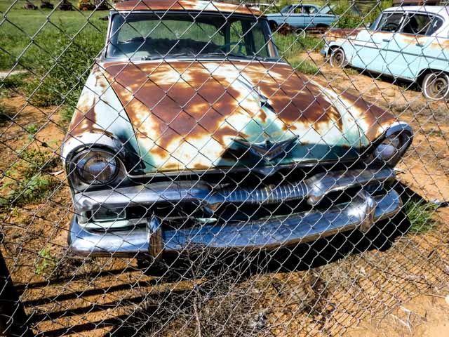 rusty car route 66