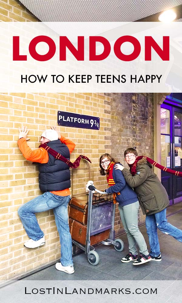 Visiting London with teens is a great idea with lots of things to do. Here's some ideas to keep teenagers happy when visiting the capital of England. Essential ideas for your UK family trip. #travelwithteens #uktravel #londontravel