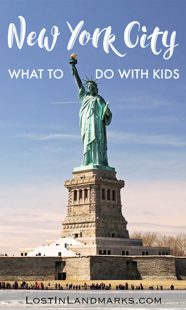 What to do on a New York City break with kids. NYC family vacation itinerary with fun for both adults and children - #nyctravel