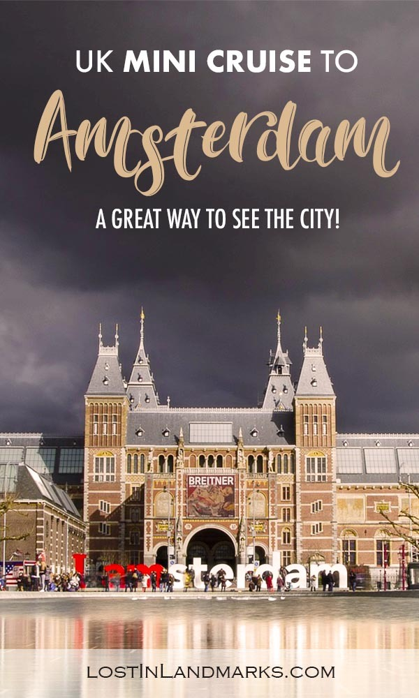 The Newcastle to Amsterdam mini cruise is a great way to get an introduction to Amsterdam. The UK - Holland ferry gives a day in Amsterdam to explore before returning home. Here's our review on the cruise with DFDS. #europetravel