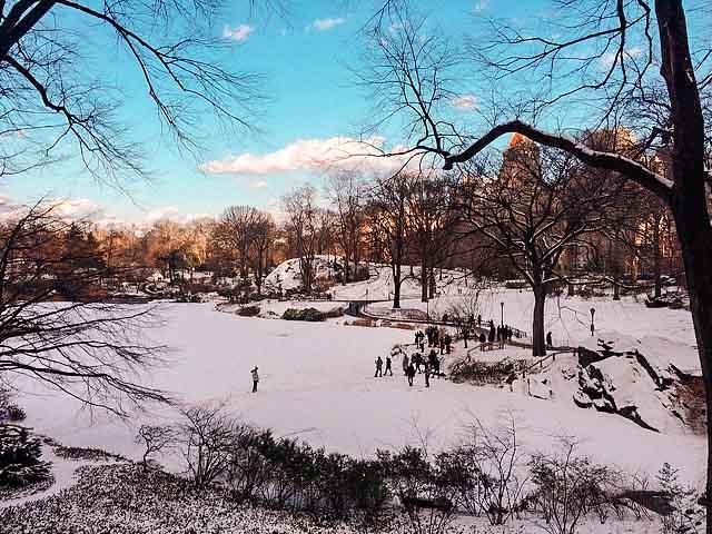 central park christmas