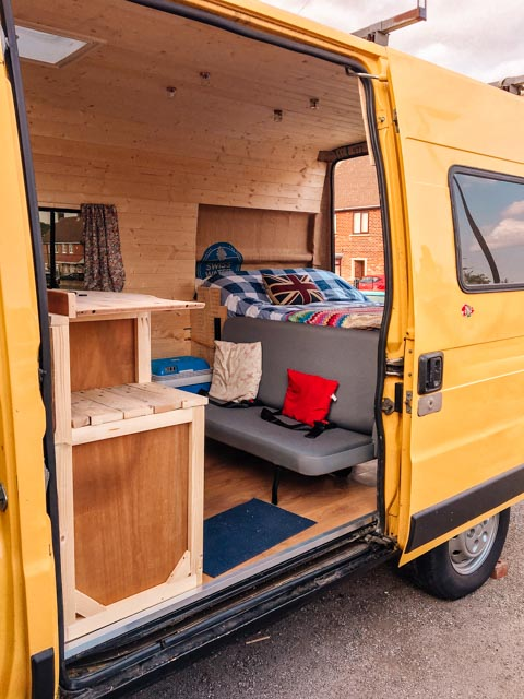 citroen relay self build inside