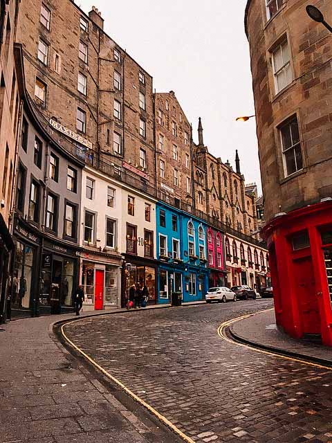 grassmarket edinburgh harry potter