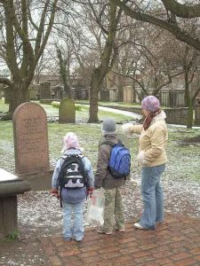 greyfriars bobby grave edinburgh