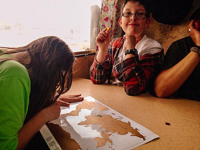 map learning worldschooling