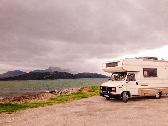 scotland nc500 motorhome
