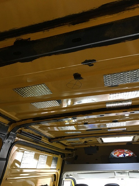 sound deadening a campervan