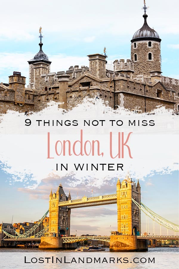 London is a great winter destination with plenty of things to do and see and lots of celebrations to join in with like new years eve. Here's some tips for your winter city break. #londontravel #londonnye