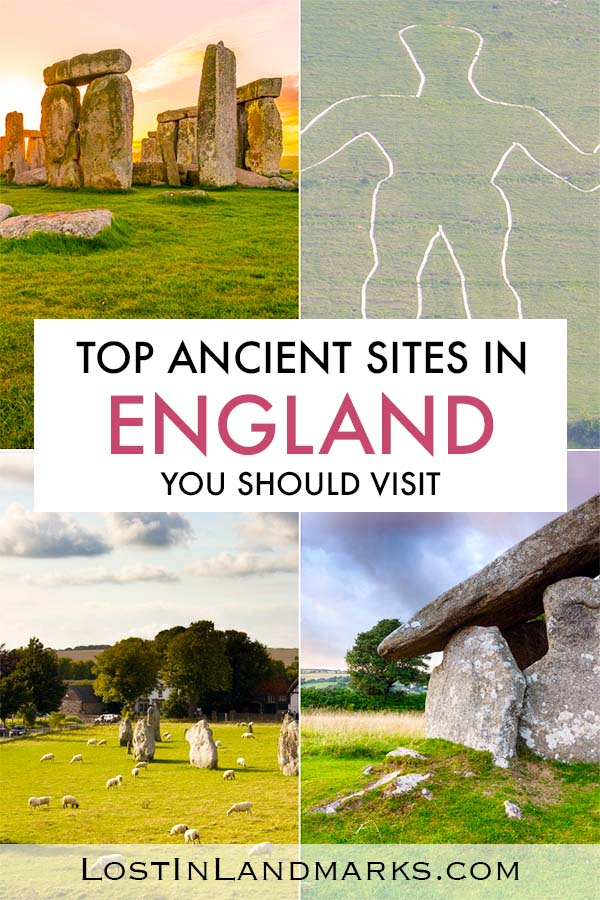 England is full of historical and ancient sites like Stonehenge and Avebury and they should definitely be on your bucket list of things to do if you visit the UK. Here's a list of some great places to go in England if you love history #englandtravel #uktravel