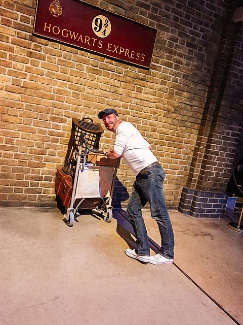 harry potter studio hogwarts express