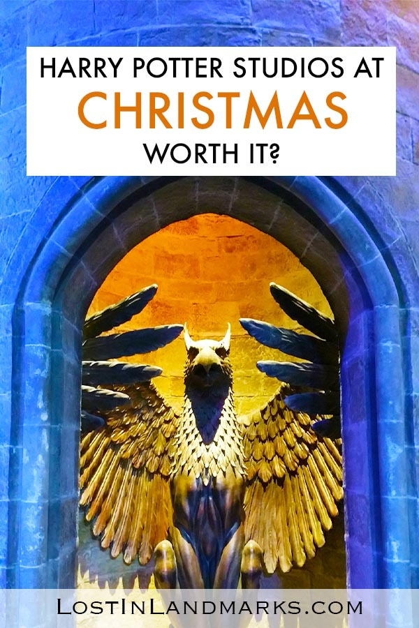 Christmas is perfect for visiting the Harry Potter Warner Bros Studio in London. Here's tips for your bucket list visit to see Hogwarts, Diagon Alley and all the outfits! | Harry Potter London | Harry Potter Studio Tour | London Christmas