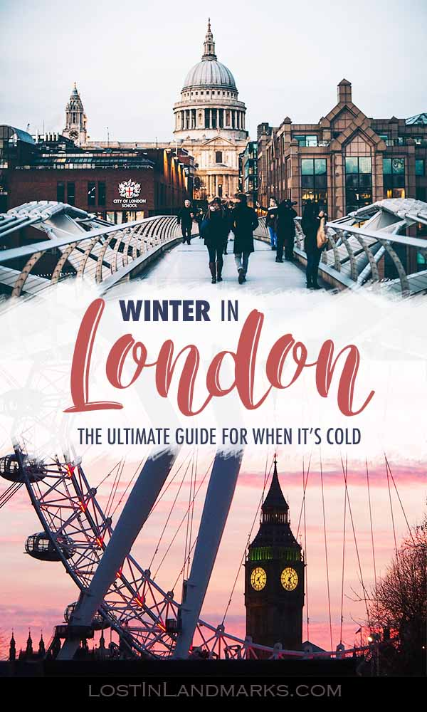 London is a great travel destination in winter with plenty of things to do in the city. New Years in London is a bucket list item especially with plenty of fireworks #londontravel #uktravel #wintertravel