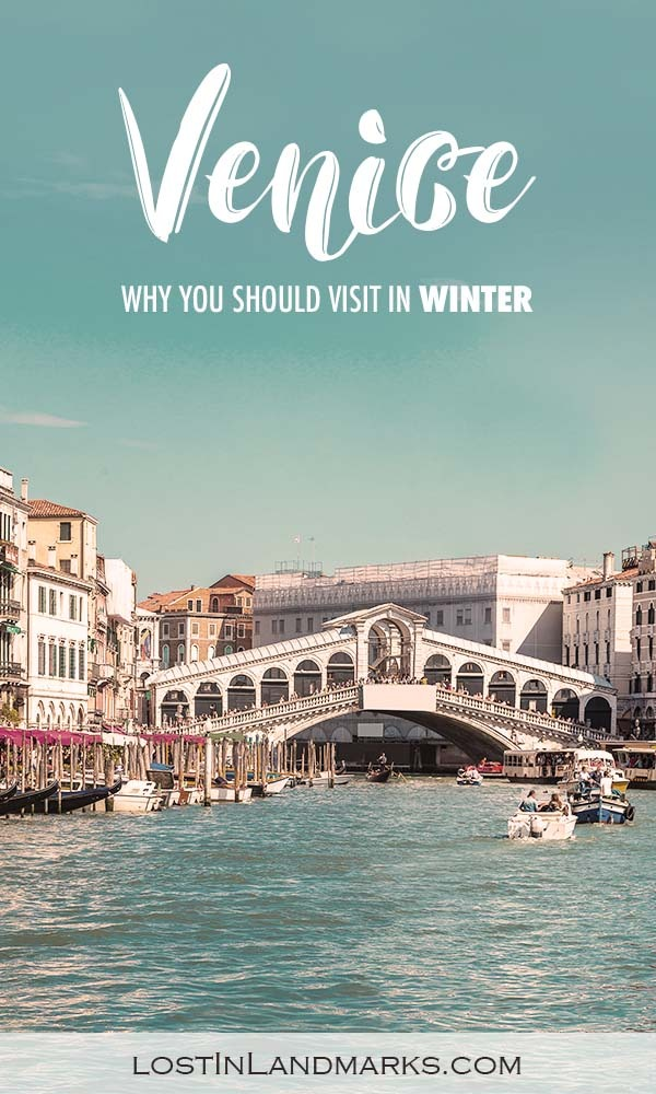 Winter is a great time for a short break to Venice as it's much quieter. There's carnival to enjoy too. Here's some tips and things to do in Venice in winter. #italytravel #europetravel