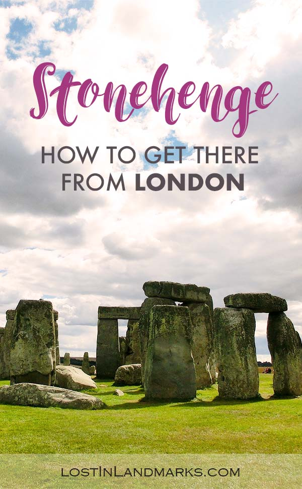 Tips of how to get to Stonehenge from London whether independently or by using a tour. It's a great day trip from London and gives another view of the English countryside so well worth it. #uktravel