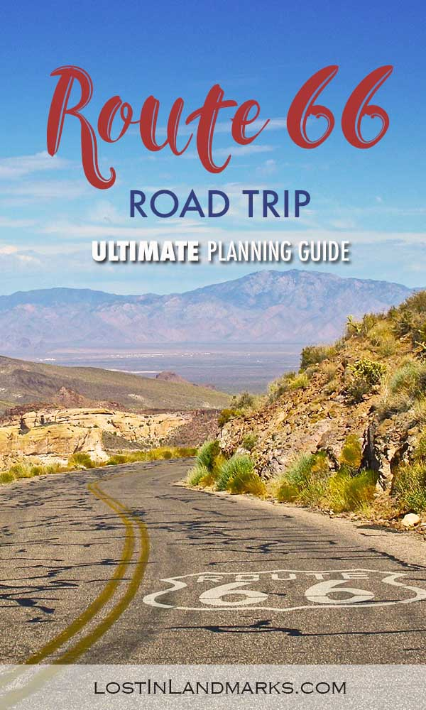 ultimate Route 66 planning guide with all your questions answered! From itinerary planning to booking hotel and renting a car you'll find all the information here #route66