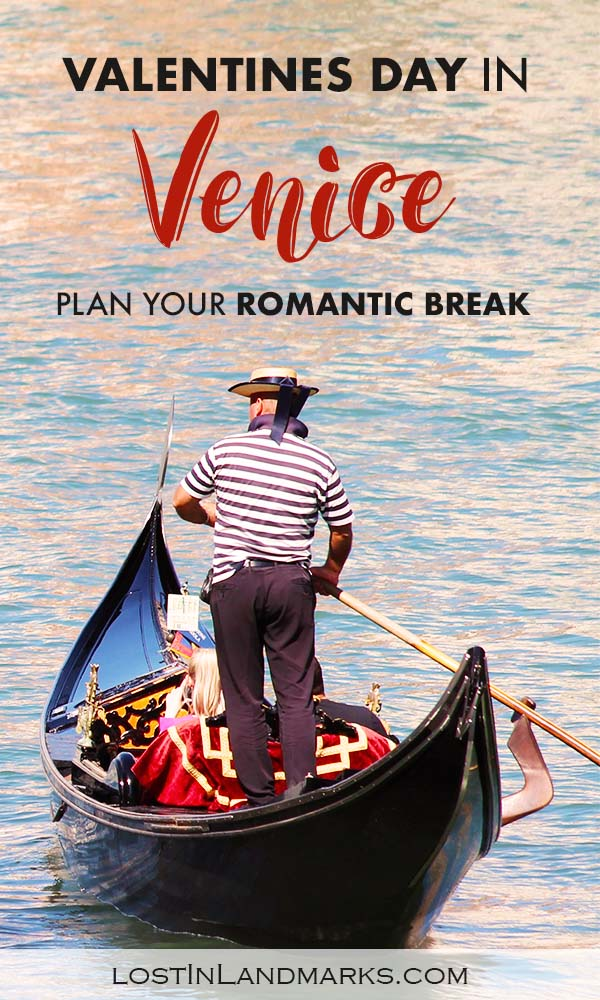 Venice is the ultimate romantic break, especially on Valentines day, and it can be a great time of year to visit the italian city. Here's some things to do in Venice so you can enjoy this romantic city destination #valentinesday #italytravel