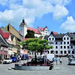 Visiting colditz castle, Saxony Germany