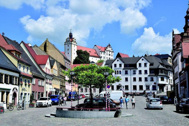 Visiting colditz castle, Saxony Germany