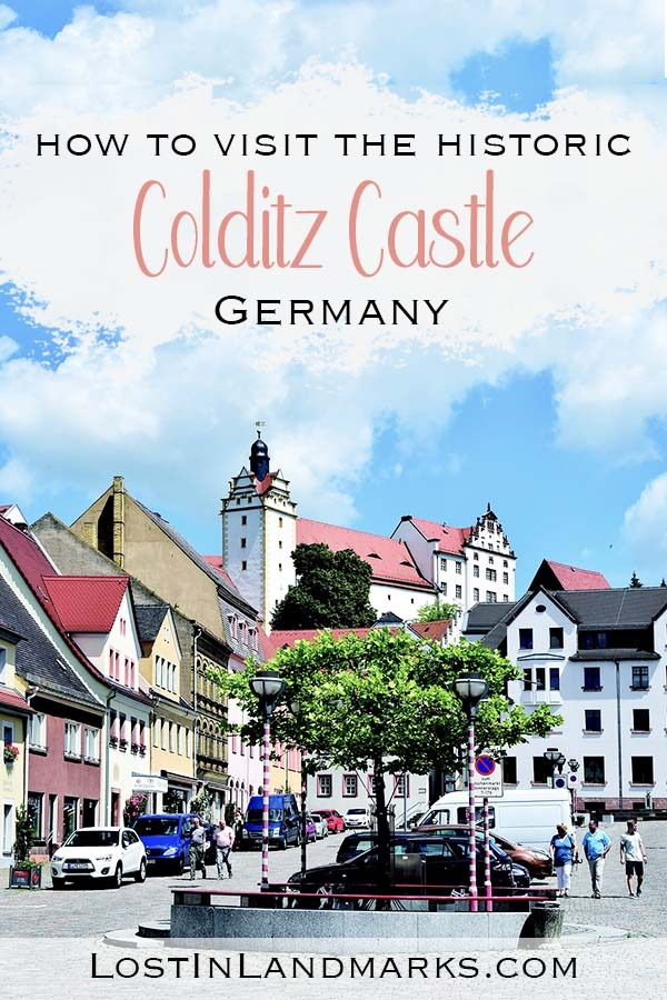 Colditz castle in Germany was a famous world war two prison which saw many daring escapes. Visiting Colditz castle is a great thing to do either as a day trip from Leipzig, Dresden or Berlin. A must see historic German castle. #germanytravel #europetravel