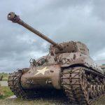 normandy utah beach tank