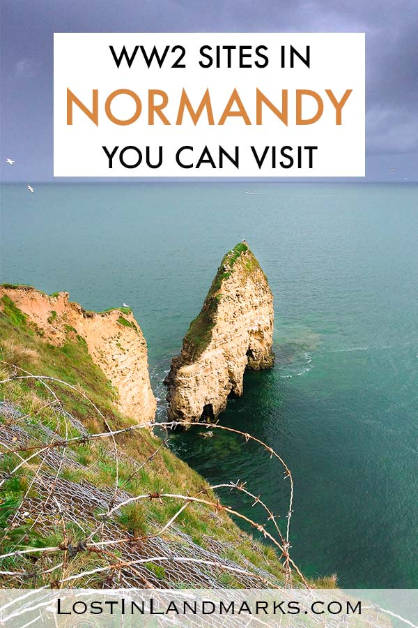 The Normandy beaches in France are definitely a bucket list place to visit. The landing sites were really important in World War 2 and trips to this area include museums, memorials and artefacts left over from the fighting. British, Canadian and American soldiers all fought here and it's a popular pilgrimage site. #francetravel