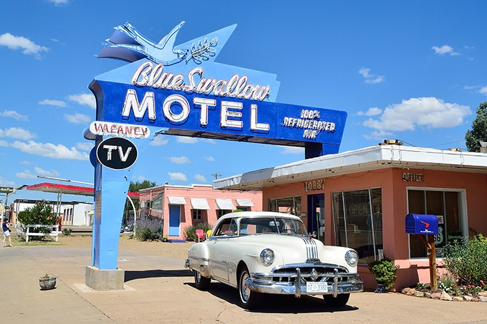 Tucumcari town on route 66