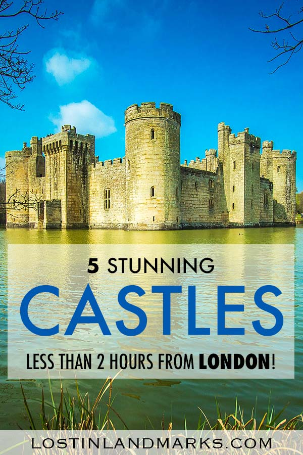 Some of best castles in the UK are actually near the city of London and they make a great day out during your trip there. Here's 5 of the best UK castles that you can make a day trip from London to see easily. With history, royalty and much more you'll see a different side to your England vacation #uktravel #englandtravel