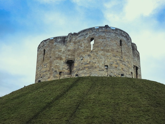clifford tower in york uk