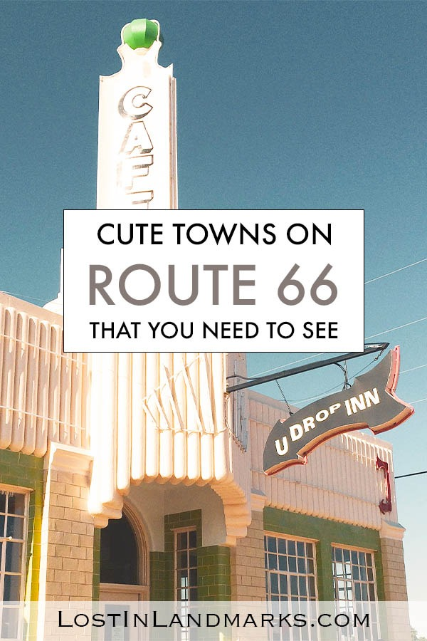 The best towns along Route 66 are often the smallest ones. They have so much character and history you can't help but love them. Often they have museums, traditional motels and retro diners for you to enjoy and really get the full Route 66 experience. USA road trip #route66