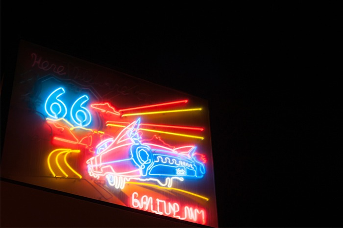 gallup nm neon route 66