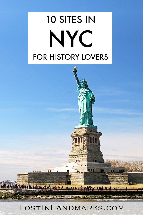 There are so many historic sites in New York City that you'll never be stuck on things to do. Add these must see places in NYC to your bucket list - great for any itinerary whether there for a short weekend city break or a week long vacation. Often the history of New York is glossed over when ticking the items off your bucket list - there are some real gems here